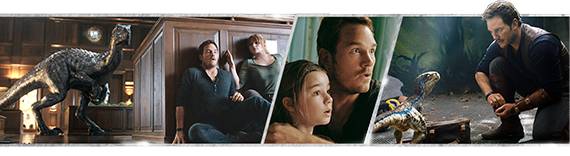 Jurassic World: Fallen Kingdom - Photostrip